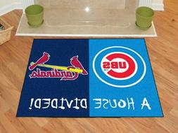 Fanmats 12248 Chicago Cubs - St. Louis Cardinals House Divid