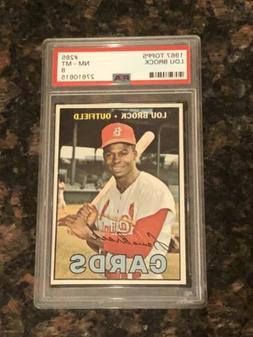 1967 Topps Lou Brock St. Louis Cardinals #285 Baseball Card