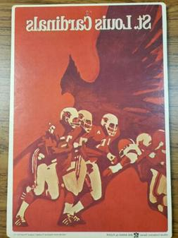 1968 FLEER  NFL  FOOTBALL  BIG SIGNS      ST LOUIS CARDINALS