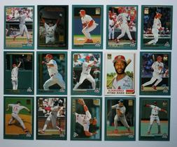 2001 Topps St Louis Cardinals Team Set w/ Traded 45 Cards Al