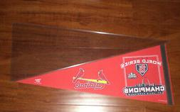2011 ST. LOUIS CARDINALS WORLD SERIES CHAMPIONS PENNANT