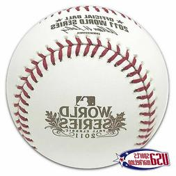Rawlings 2011 World Series Official Game Baseball St. Louis