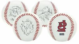 Rawlings 2018 St. Louis Cardinals MLB Team Logo Roster Autog