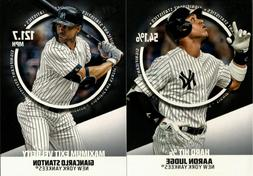 2019 TOPPS SERIES 2 SIGNIFICANT STATISTICS SP INSERT SINGLES