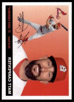 2020 Archives Base #92 Matt Carpenter - St. Louis Cardinals