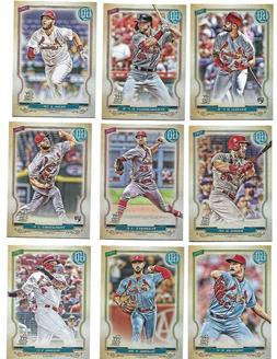 2020 Topps Gypsy Queen ST LOUIS CARDINALS Team Set  Flaherty