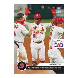 2020 Topps Now #137 Kolten Wong St. Louis Cardinals Walk-Off