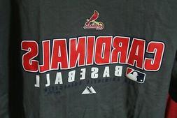 Majestic Authentic Collection St. Louis Cardinals T-Shirt Da