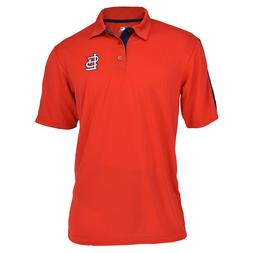 Authentic MLB St. Louis Cardinals TX3 Cool Polo Shirt with E