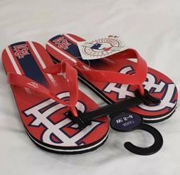 baseball st louis cardinals womens sandals flip