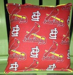 Cardinals Pillow  St Louis Cardinals Pillow MLB Handmade in