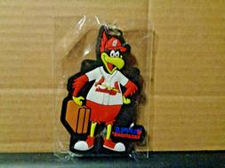 Fredbird St. Louis Cardinals  Luggage Tag  New in package  4