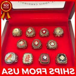 FROM USA - 1926-2011 Set St. LOUIS CARDINALS 11 World Series