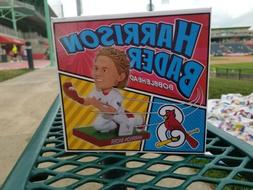 harrison bader st louis cardinals bobblehead springfield