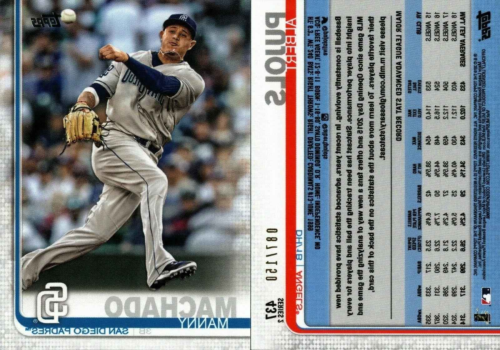 2019 topps series 2 advanced stats 150