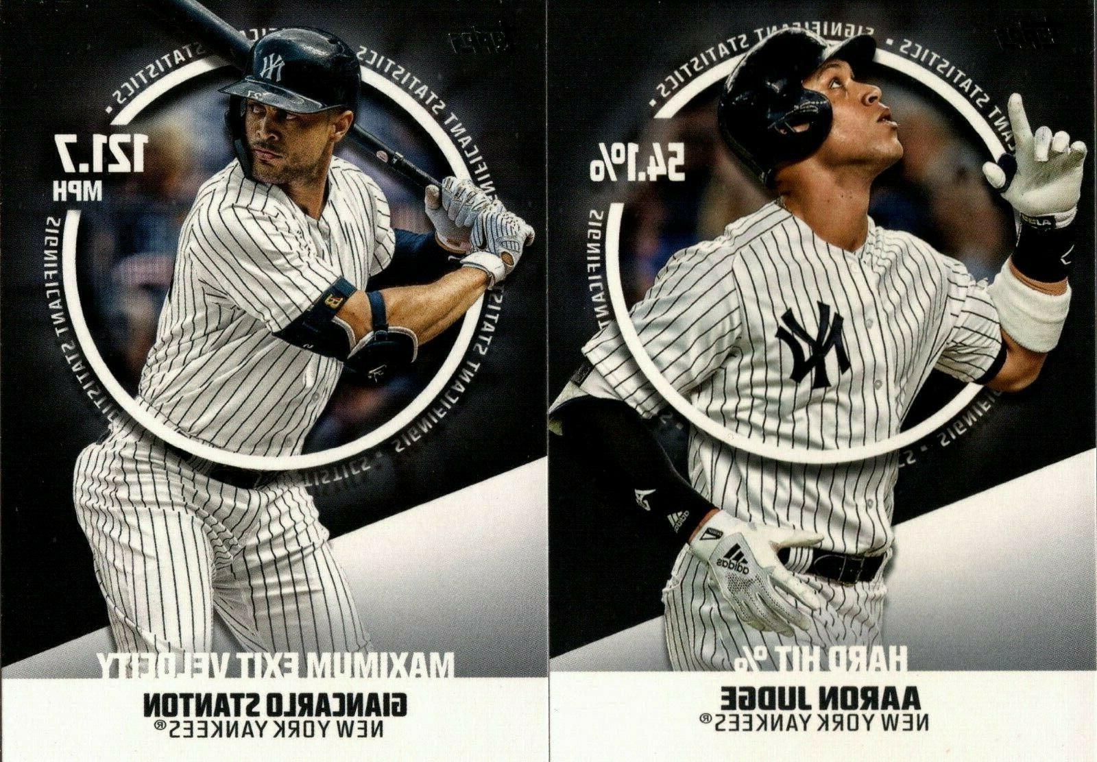 2019 topps series 2 significant statistics sp