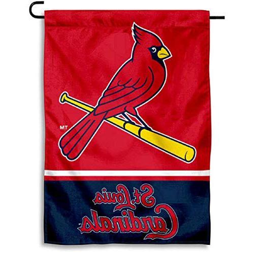 louis cardinals garden flag yard