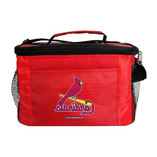 mlb louis cardinals insulated lunch
