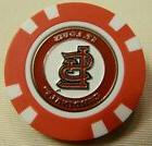 MLB St. Louis Cardinals Magnetic Poker Chip removable Golf B