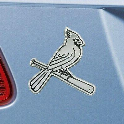 New Cardinals Auto Heavy Chrome Metal Emblem