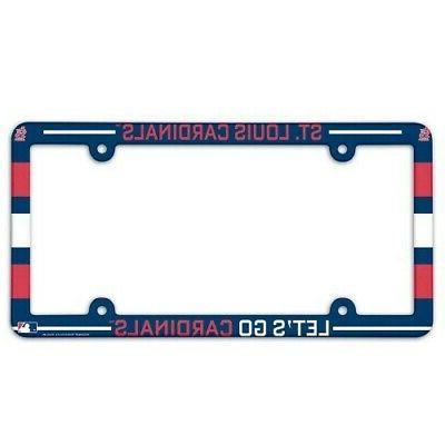 st louis cardinals 1 mlb license plate