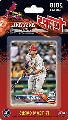 St Louis Cardinals 2018 Topps Factory Sealed Team Set  Wainw