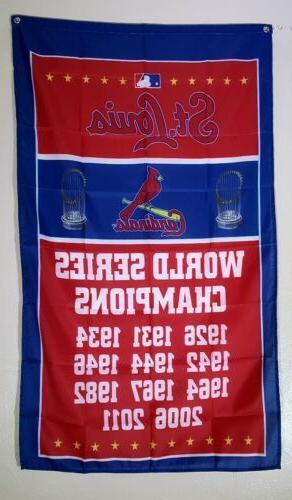 st louis cardinals banner 3x5 ft flag