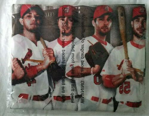 st louis cardinals banners flags game giveaways