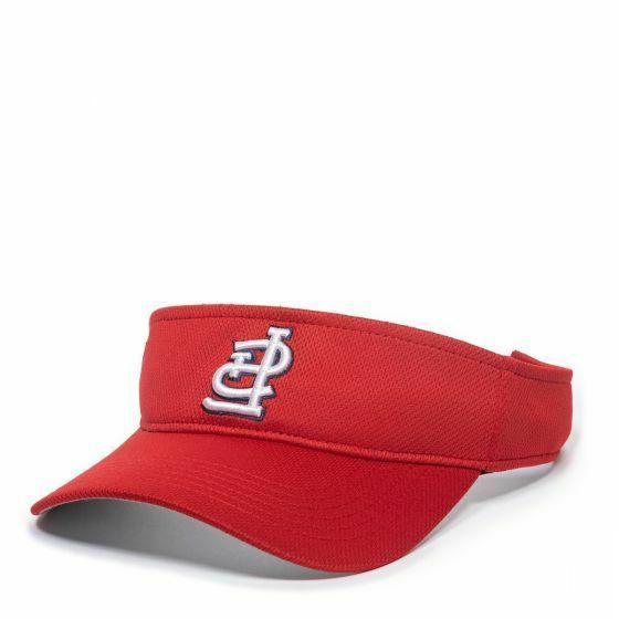 st louis cardinals baseball visor cap hat