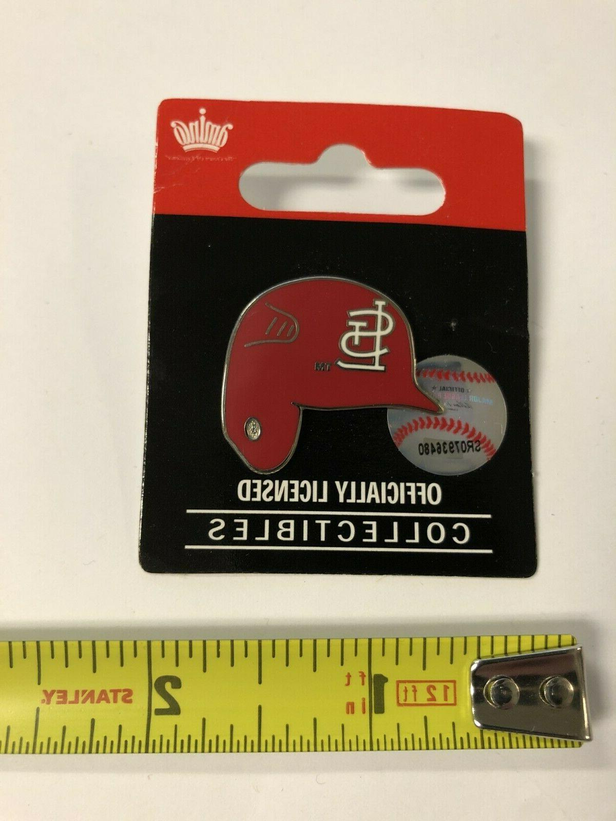 st louis cardinals bat helmet collector s