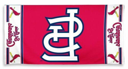 st louis cardinals beach towel