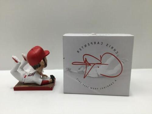 St Louis Cardinals Carpenter Bobblehead SGA NIB