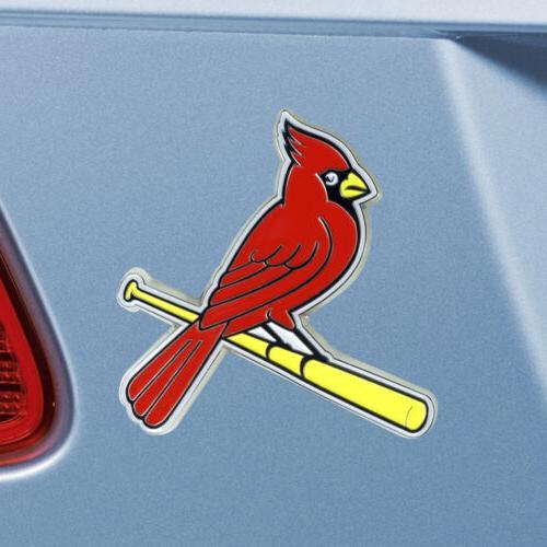 """St. Cardinals Metal 3""""x3.2"""""""