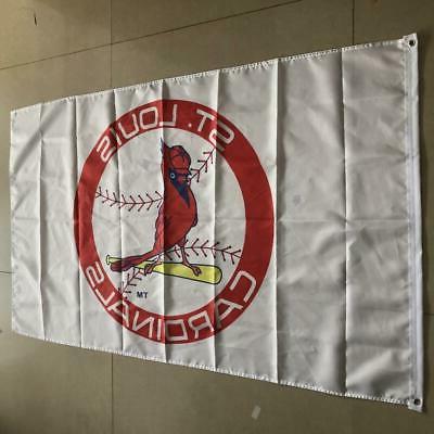 st louis cardinals flag 3x5 ft indoor
