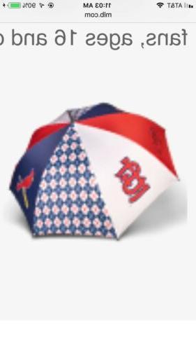 st louis cardinals golf umbrella full size