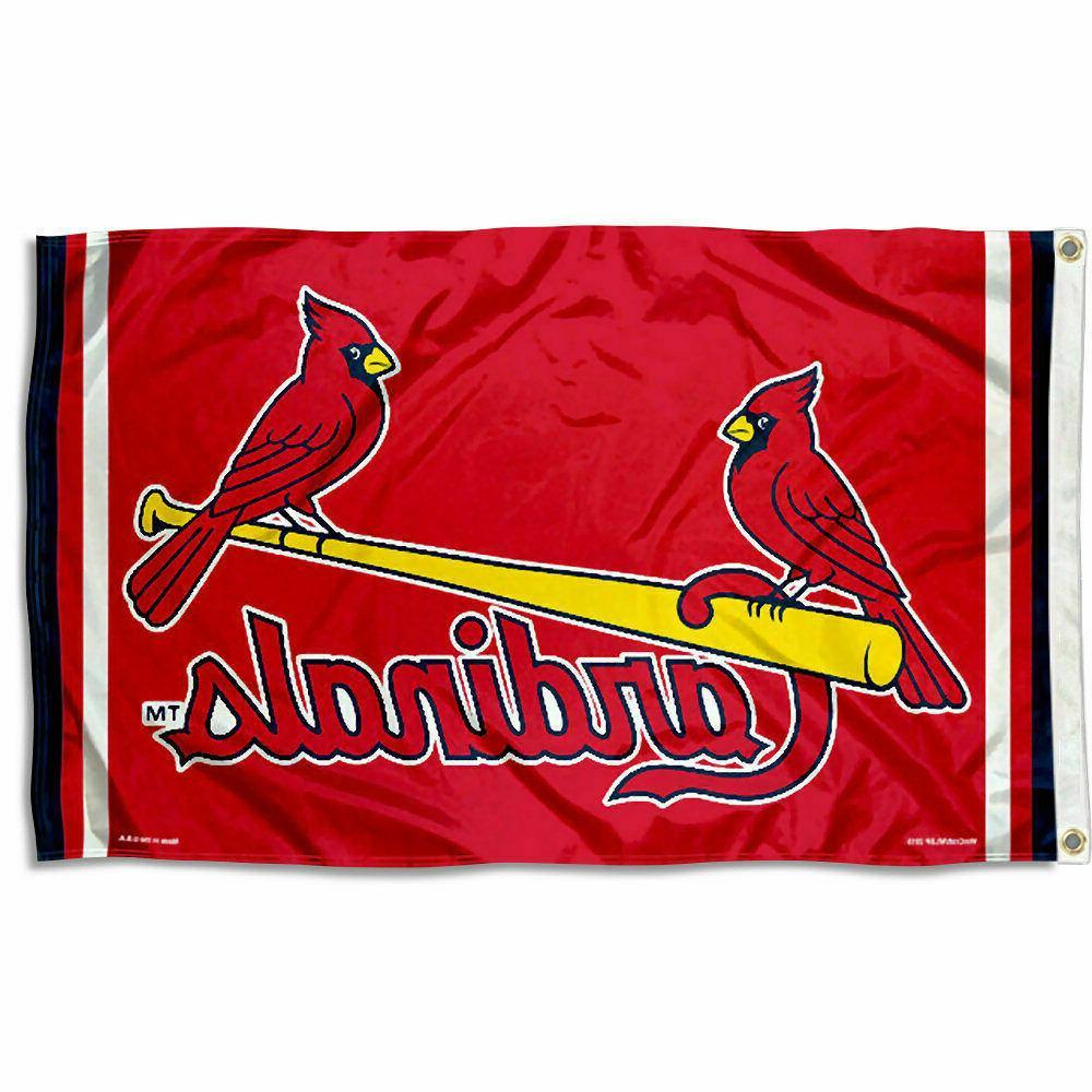 st louis cardinals logo 3x5 banner flag