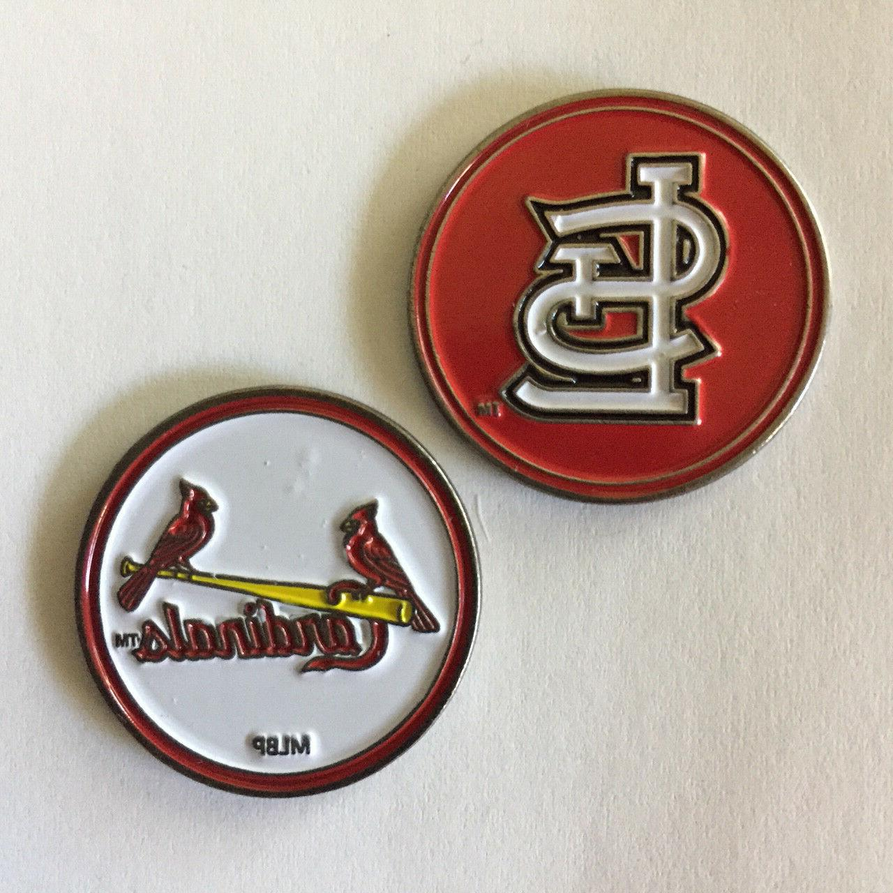 st louis cardinals mlb golf ball marker