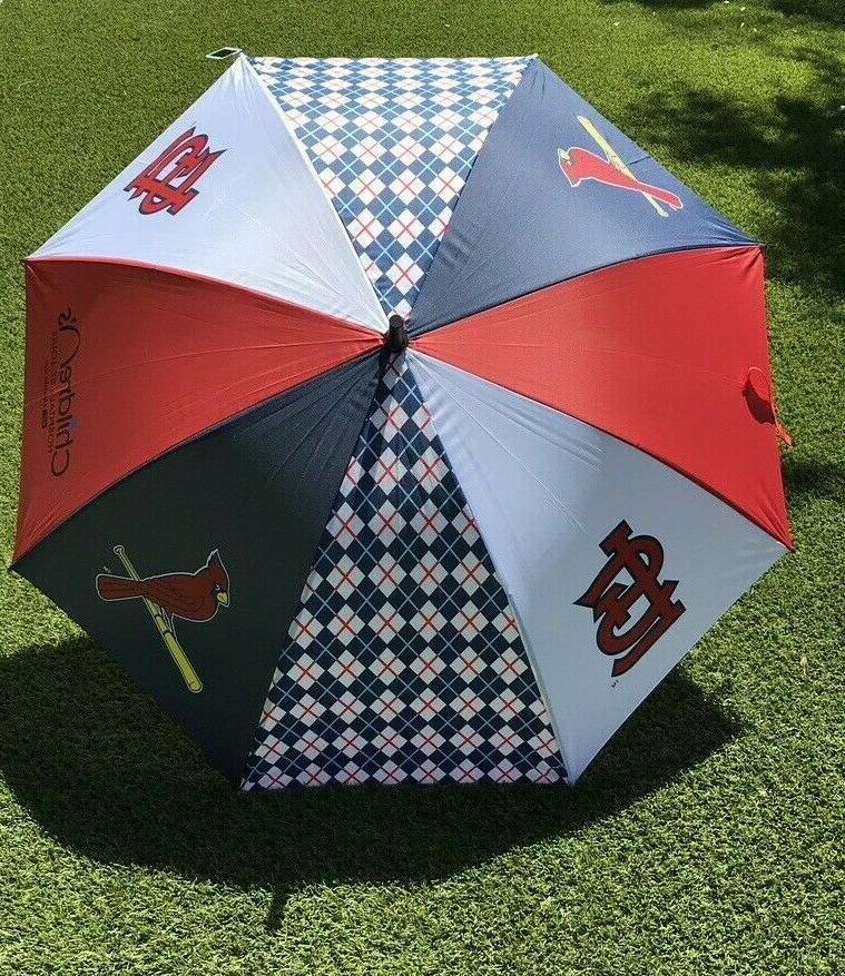 st louis cardinals mlb golf umbrella stadium