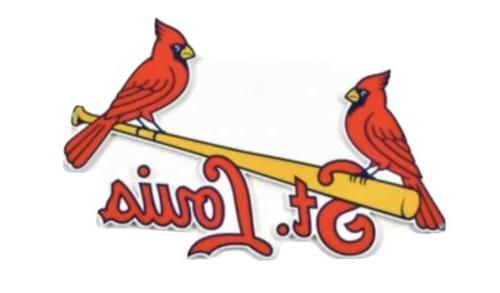 st louis cardinals outdoor flag script white