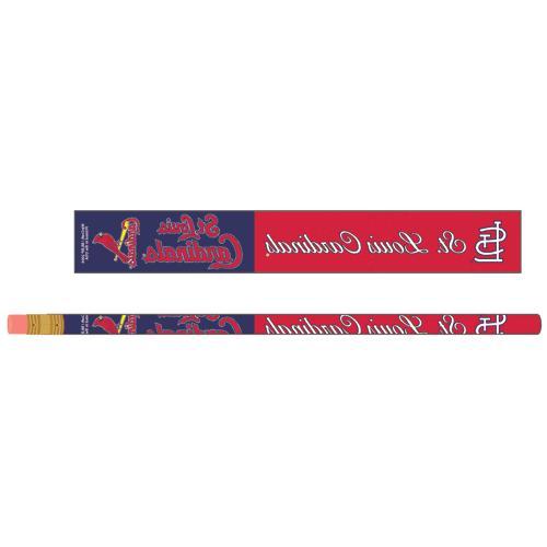 st louis cardinals pencils 6 pack