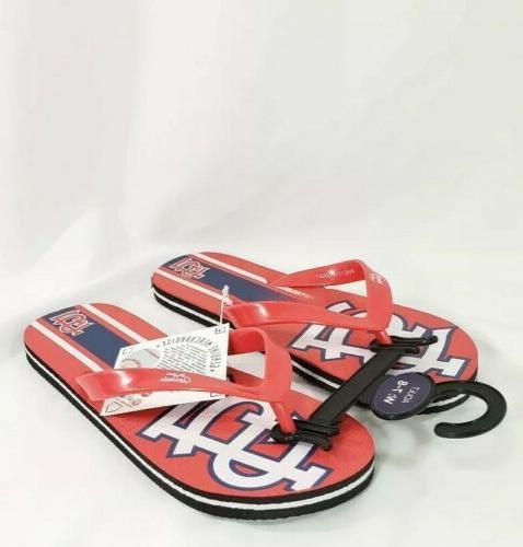 st louis cardinals sandals flip flop womens