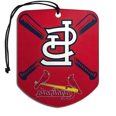 st louis cardinals shield design air freshener