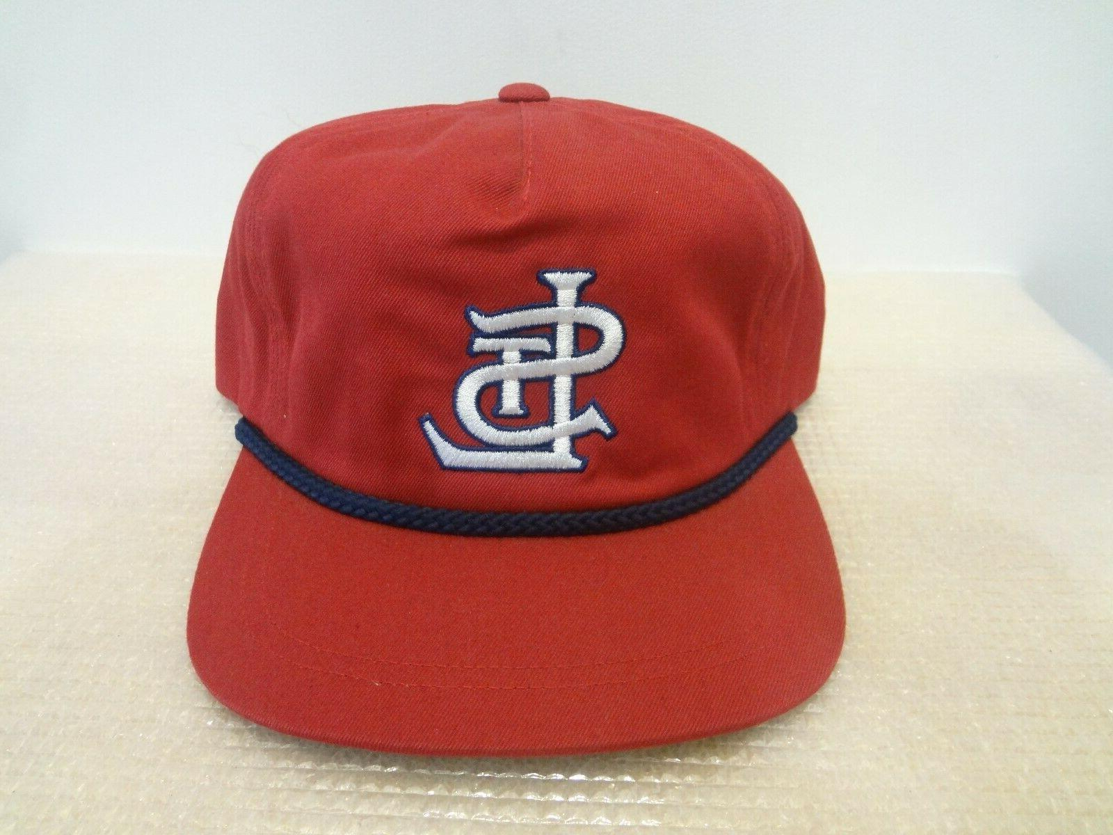 vintage mlb st louis cardinals snapback hat