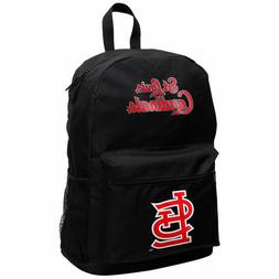 St. Louis Cardinals Black Sprint Backpack - New with Tags