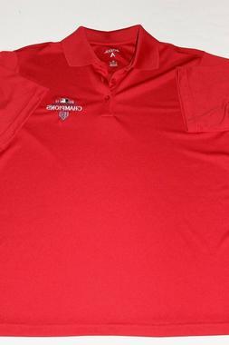 Men's new St. Louis Cardinals Polo Golf Shirt Red Medium 23