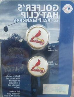 MLB Authentic St. Louis Cardinals Fan Golfer  Ball Marker Ha
