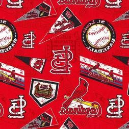 MLB Baseball St Louis Cardinals Distress Look 2018 18x29 Fab