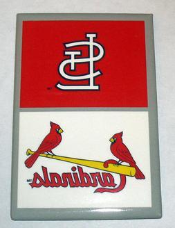 "MLB Baseball St Louis Cardinals Logo Fridge Magnet Decor 2"""