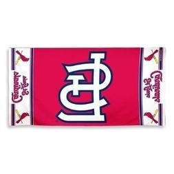 MLB Beach Towel St Louis Cardinals Pro Baseball Team Logo Fa