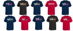 MLB Boy's 8-18 Shirt AC Team Favorite MLB Authentic Collecti